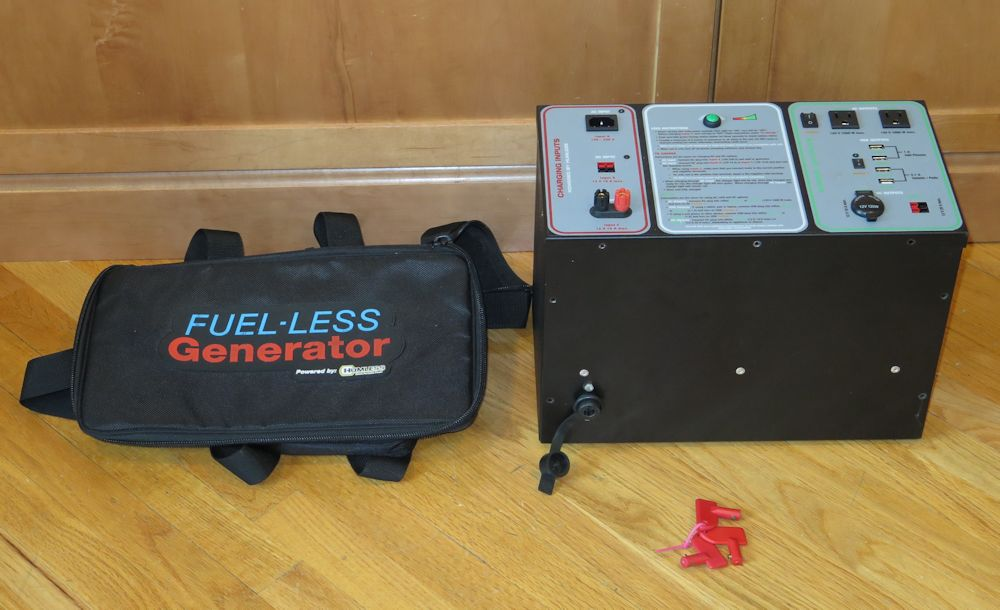 Batteries For Less >> Humless Sentinel Fuel Less Generator Needs New Batteries Ebay